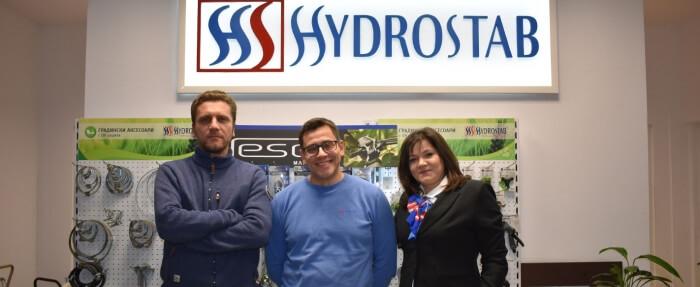 Новият управленски екип на Хидростаб