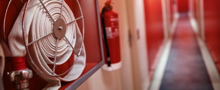 касета за външен монтаж и комплект за пожарогасителна защита (ПГС