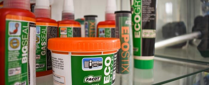 Уплътняващи продукти на Facot от Hydrostab