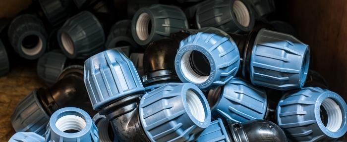 полиетиленови компресионни фитинги Elysee от Хидростаб