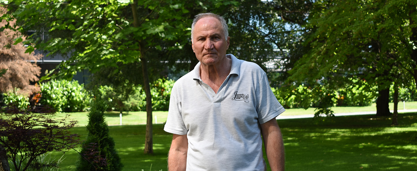 Петър Павлов е агроном по образование и призвание - Интервю пред Хидростаб
