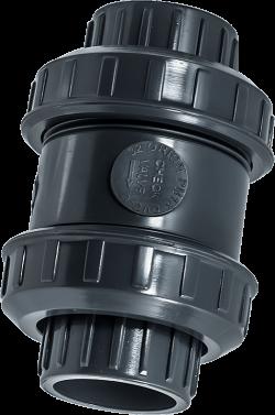 PVC Пружинен възвратен клапан