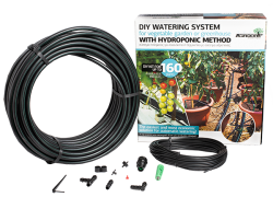 Комплект за напояване до 160 разстения с хидропоника