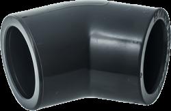 PVC Коляно 45°