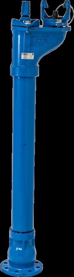 Пожарен хидрант подземен с пета и гърне