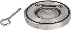 Възвратна клапа свободен диск PN16 от неръждаема стомана