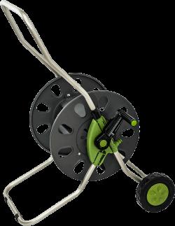 Макара за маркуч Hydro-Fit с колела, метална