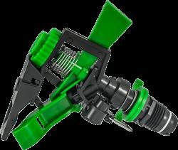 секторен пластмасов разпръсквач с външна резба