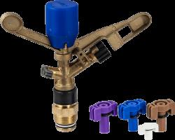 Месингов разпръсквач за напояване с външна резба
