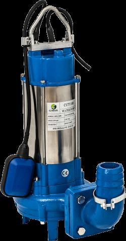 Потопяема помпа за фекални води с нож Gmax Cut