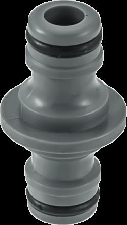 Бърза връзка за маркуч Hydro-Fit  двойна - пластмаса