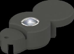 Основен камък за оформяне със светодиод