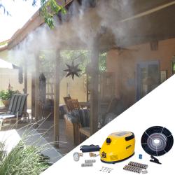 Професионална система за мъглуване - охлаждане с водна мъгла Foggy Garden Garland