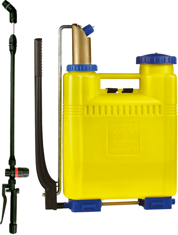 Гръбна пръскачка с регулатор за налягане и пластмасово бутало DiMartino Miura 16