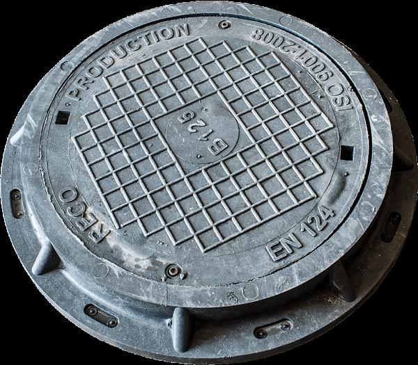 Канализационна шахта комплект рамка и капак