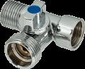 Трипътен кран Hydro-S - месинг