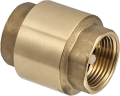 Пружинен възвратен клапан с пластмасов диск