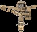 месингов разпръсквач за поливане с външна резба