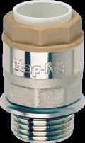 Адаптор външна резба Itap-Fit с О-пръстен и никелирно покритие
