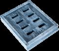 Отводнителна дъждоприемна решетка и рамка - комплект