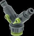 Y - Конектор Hydro-Fit за маркуч с кранчета